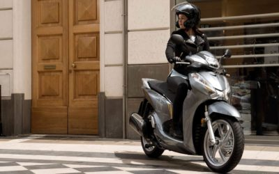 Continua a crescere il mercato di moto e scooter: Honda Sh il più venduto del mercato